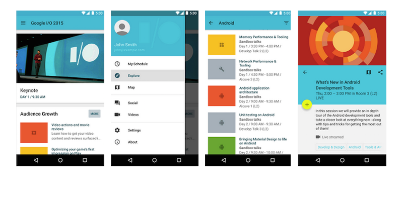 Amazing open source android apps mindorks Make your own blueprints app
