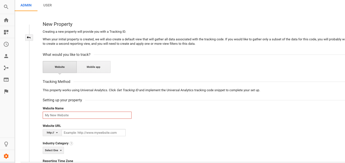 tracking google slides with google analytics and google sites