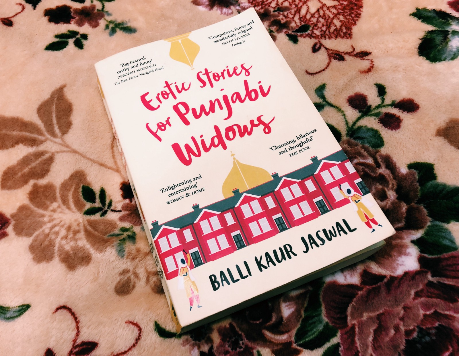 Erotic Stories for Punjabi Widows by Balli Kaur Jaswal. HarperCollins  Publishers, 2017. 388 pp, fiction.