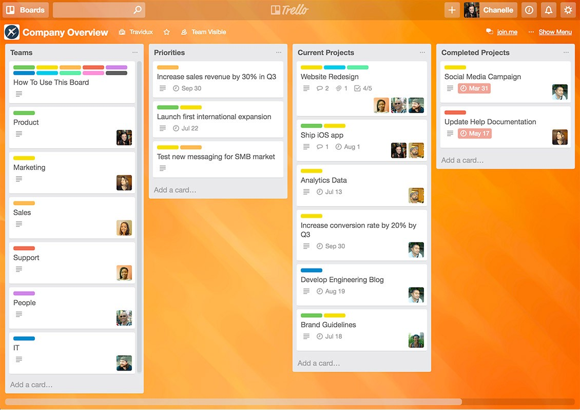 The 105 best tools to start your business in 2018 the mission medium visually manage every project in your company with trello fandeluxe Choice Image