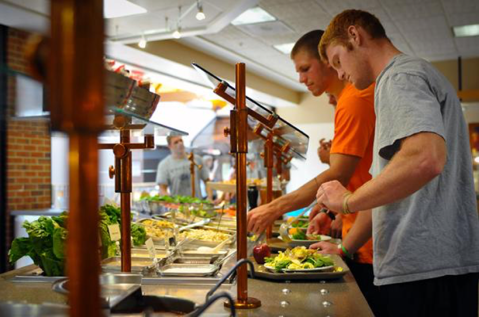 college cafeteria food essay In addition to the ability to swipe a card to qualify for a meal, many dining plans offer points to be used for additional food expenses, whether in a dining hall, a campus fast food establishment, or a convenience store.