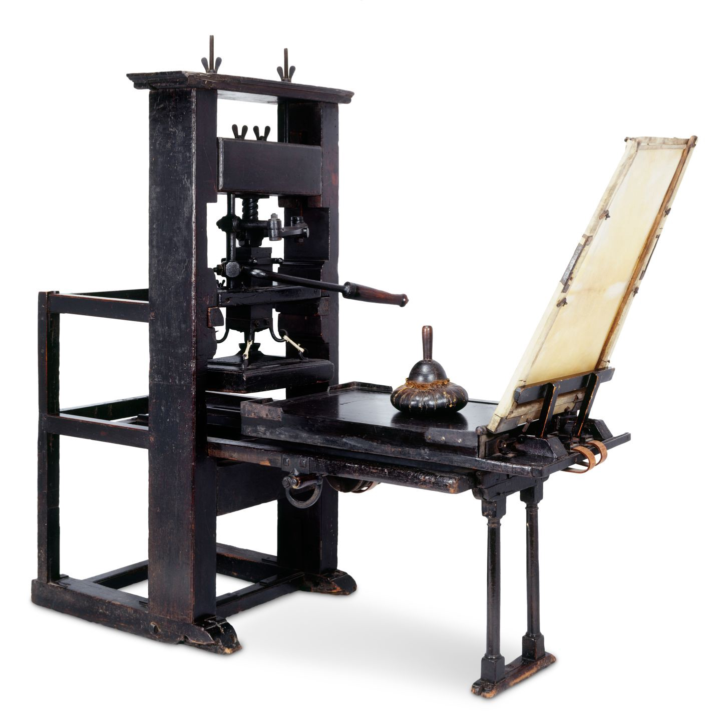 the history of johannes guttenbergs printing press The printing press had developed from the wine press in the rhine valley it was there in 1440 that johannes gutenberg (c1397-1468) began using the printing press in conjunction with a series of blocks each bearing a single letter on its face.