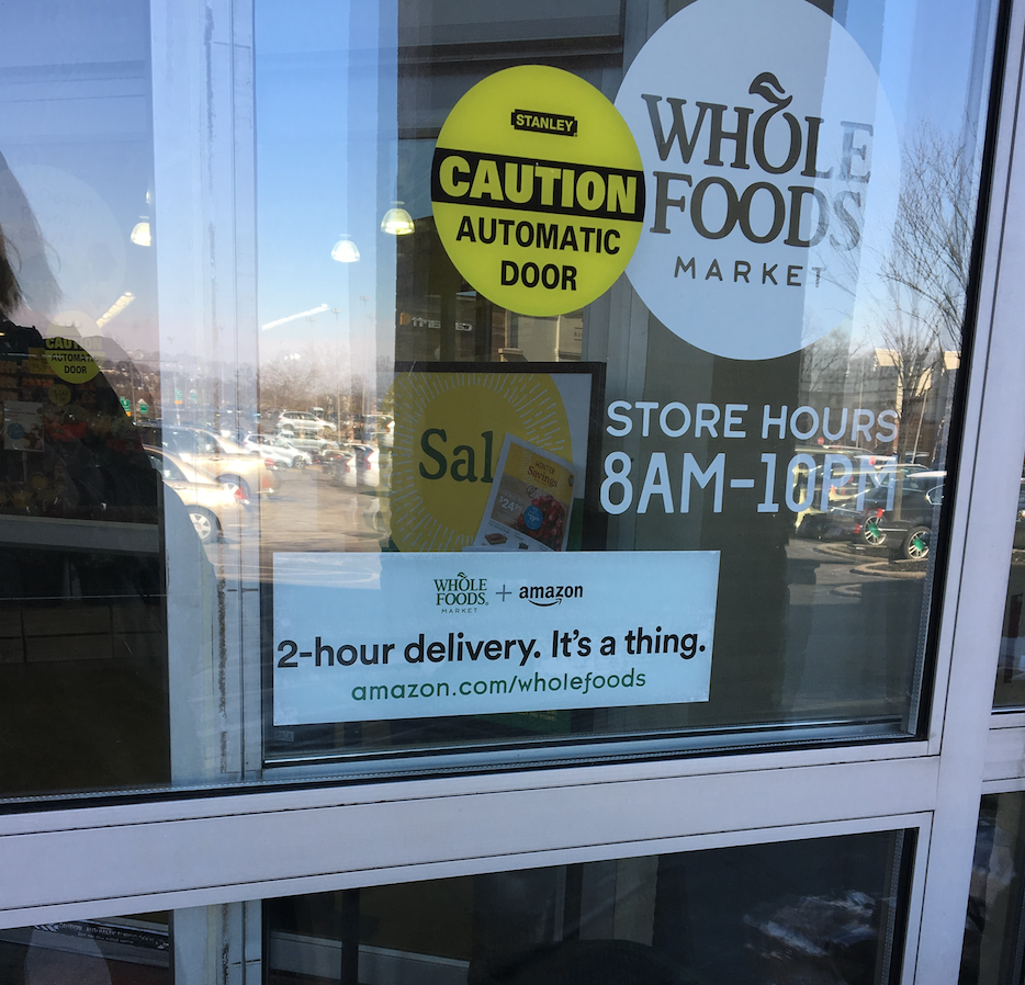 Whole Foods Amazon Prime Now Vs Green Bean Delivery The Age Old