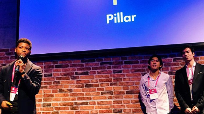 HFL cohort members pitch to investors and students at the START Summit in St. Gallen