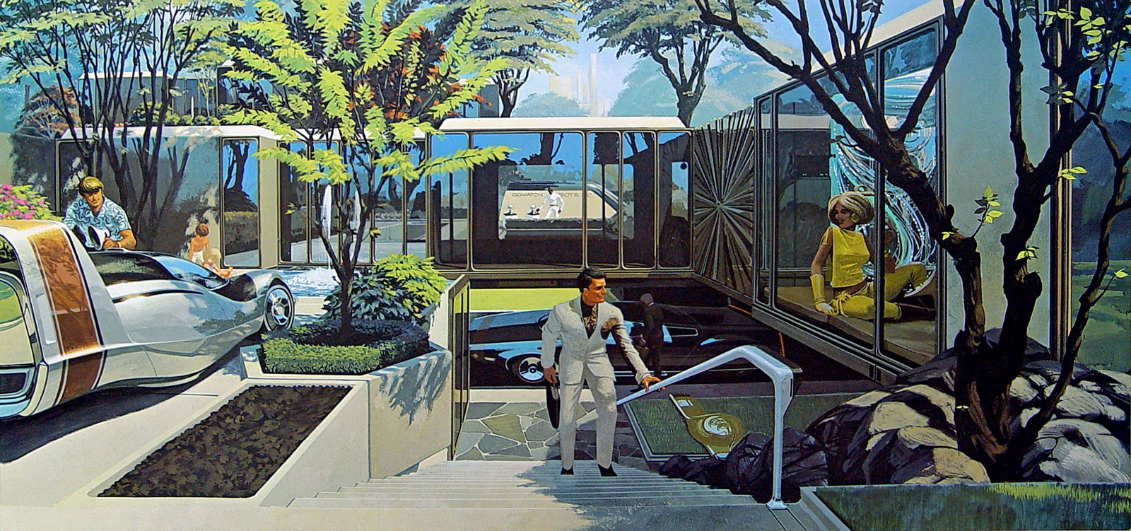 Syd Mead for US Steel, 1961.