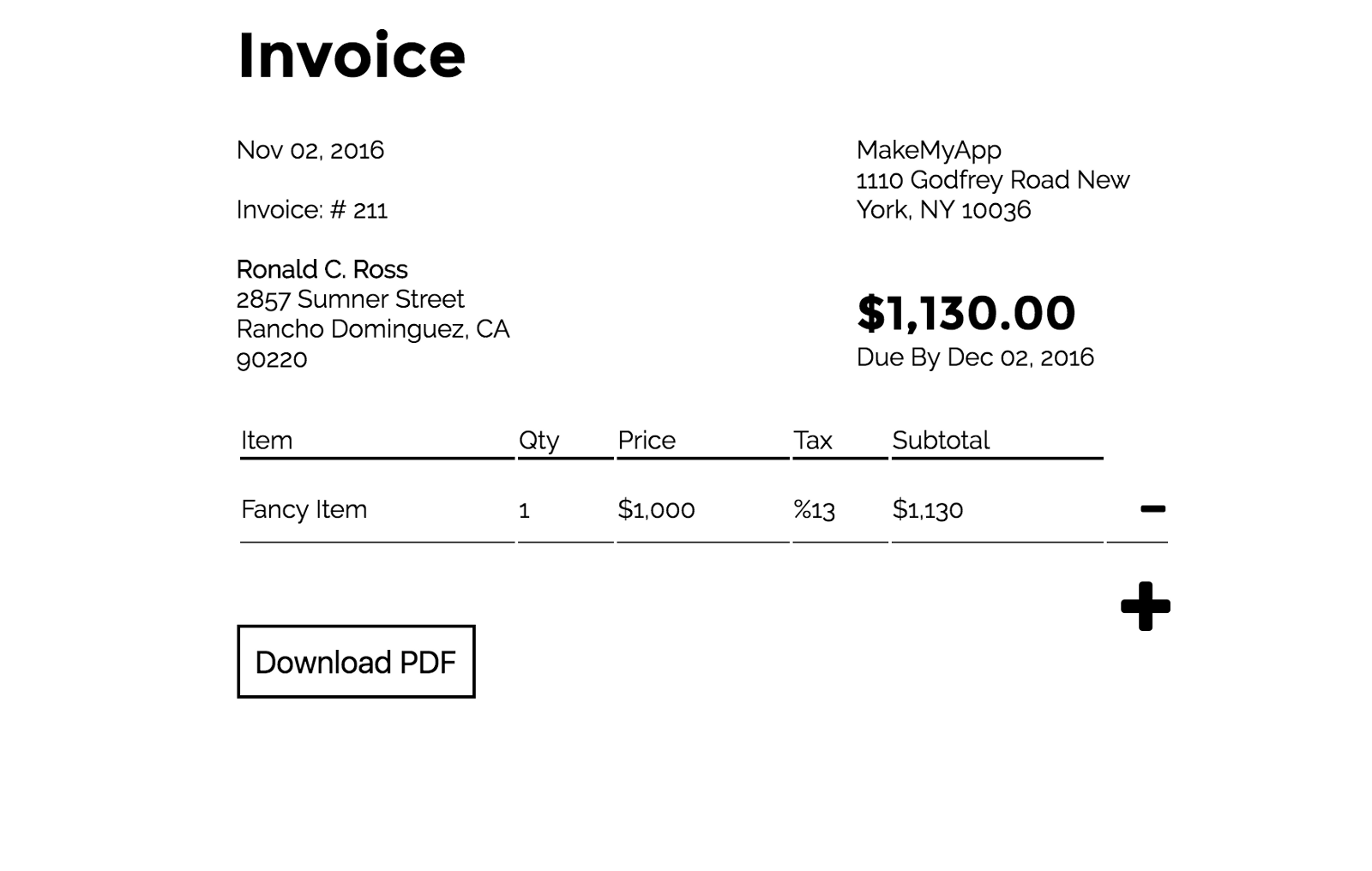 great tool free online invoice pdf creator makemyapp io medium