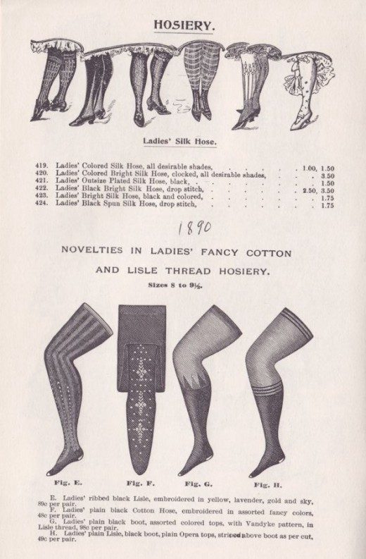 2716be607 Pantyhose and Tights  A History of Hosiery – VienneMilano – Medium