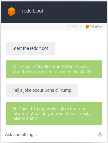 5b0cf2056 Chatbots With Google DialogFlow  Build a Fun Reddit Chatbot in 30 ...