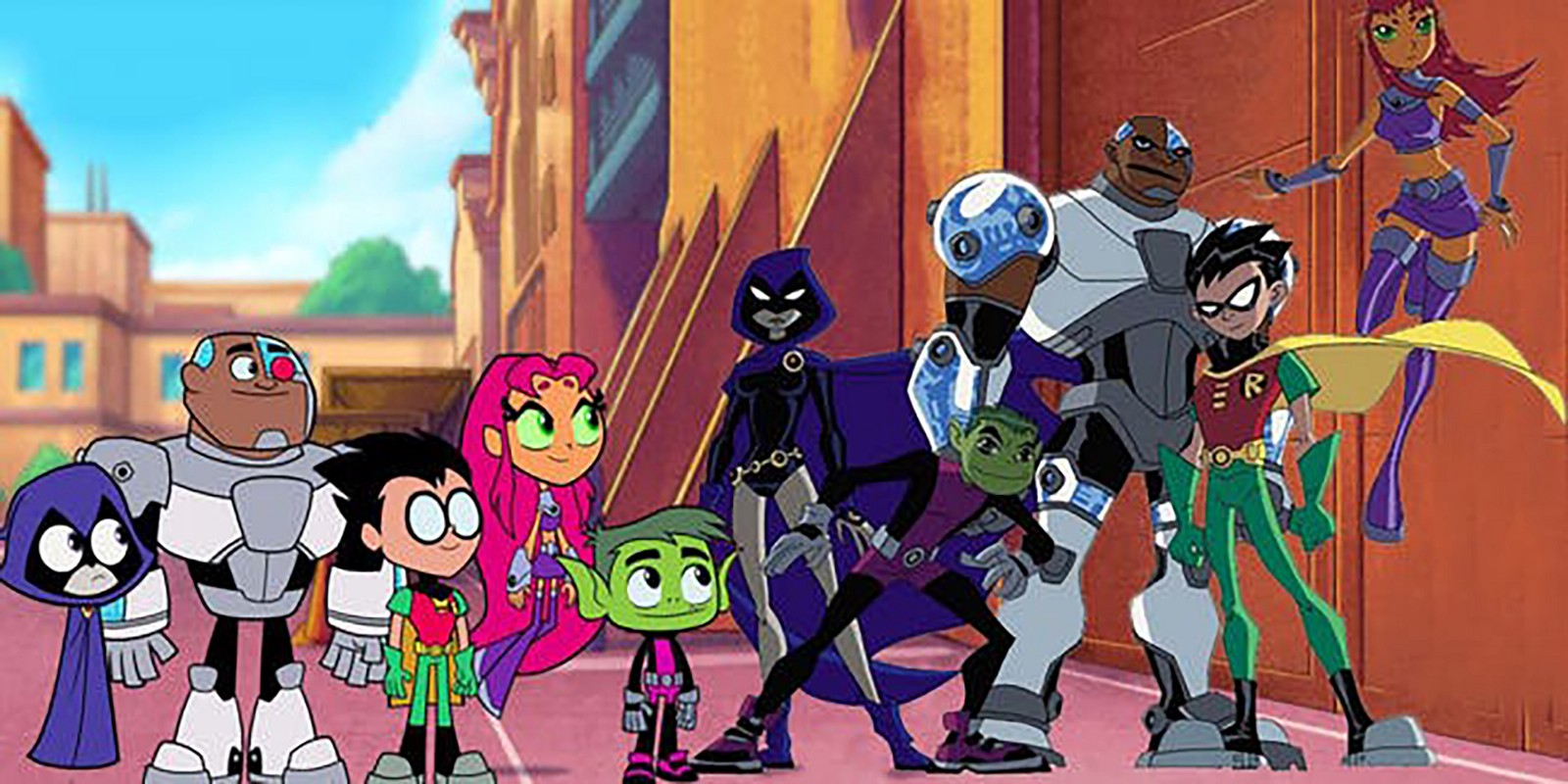 Show survive this teen titans agree