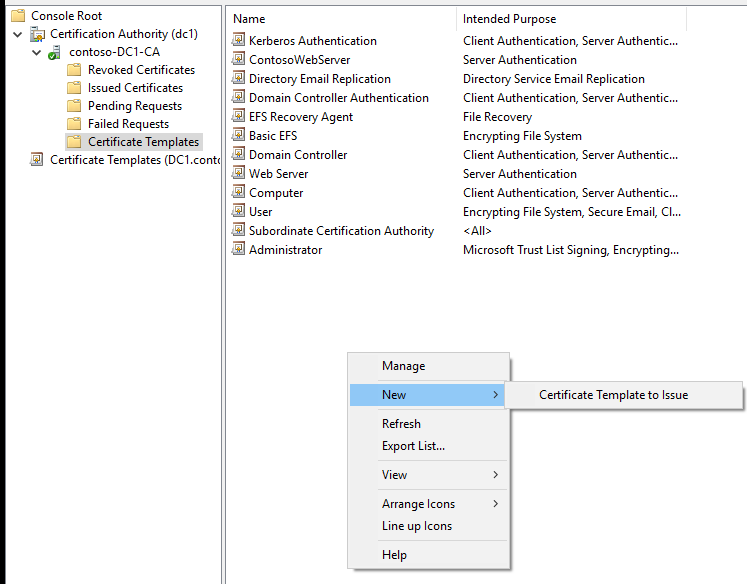 Google chrome pki and sans root medium next select the template you just created for enrollment agents yelopaper Images