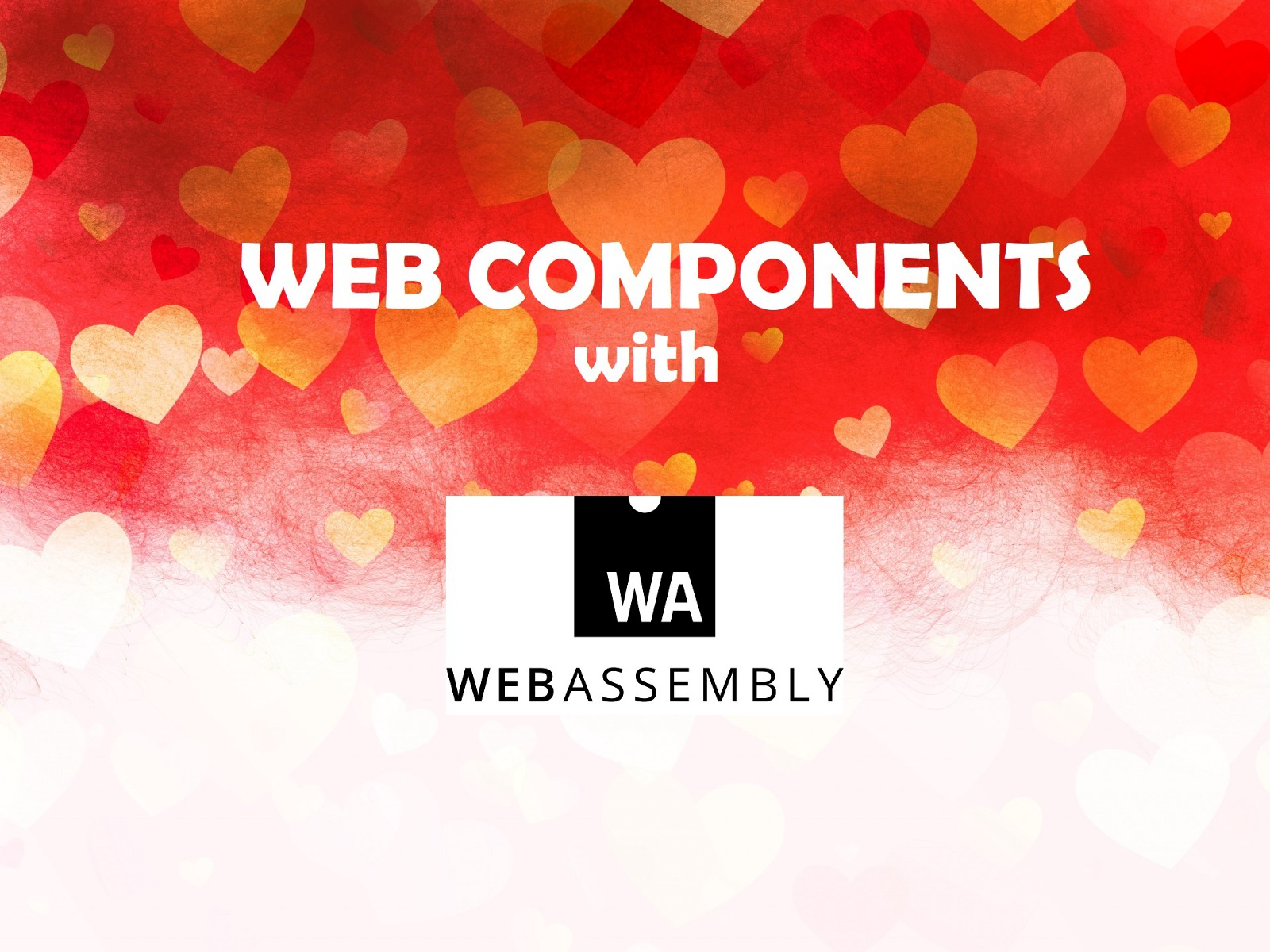 Develop W3C Web Components with WebAssembly