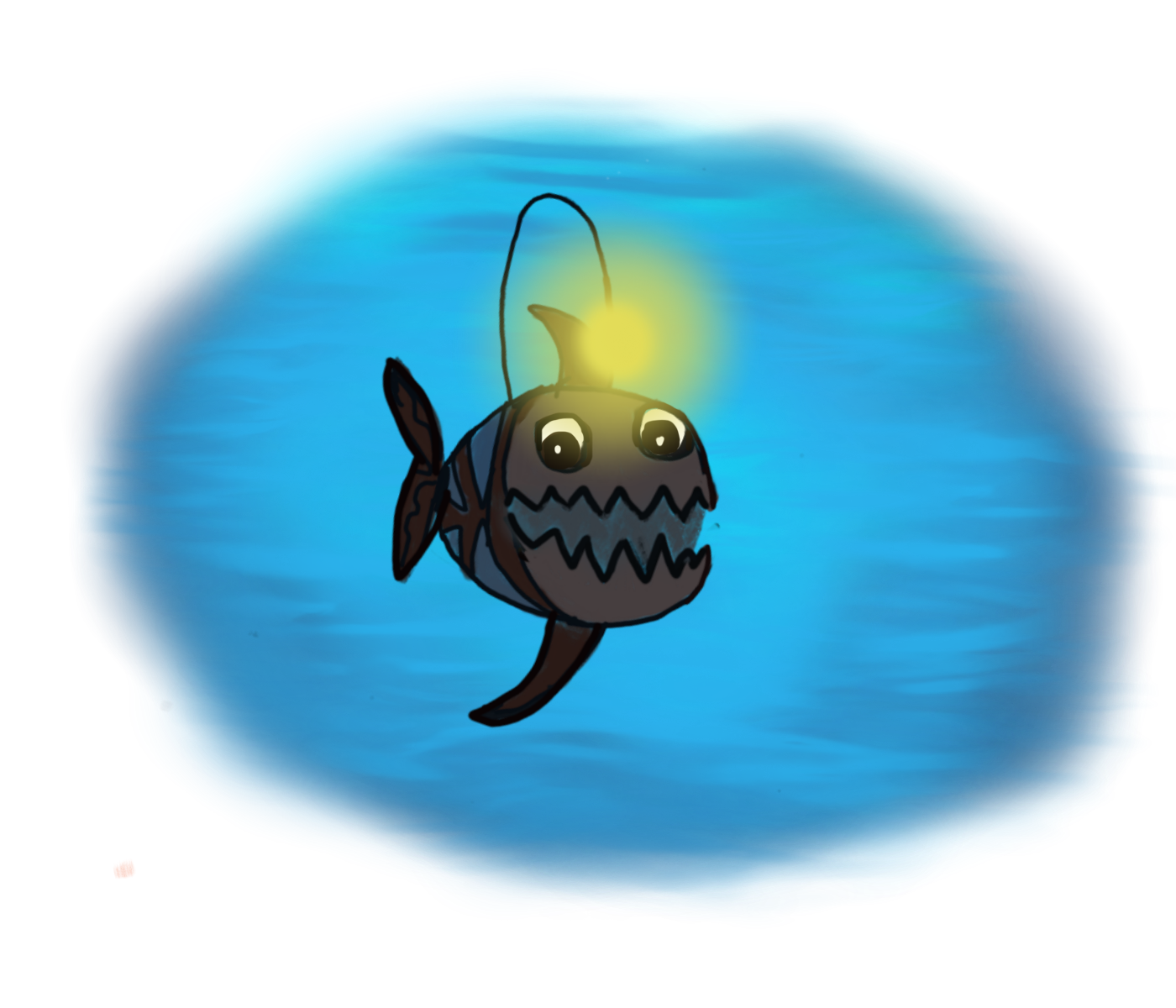 """Triangle Fish Goes Missing!"""" – The Coffeelicious for Angler Fish Png  197uhy"""