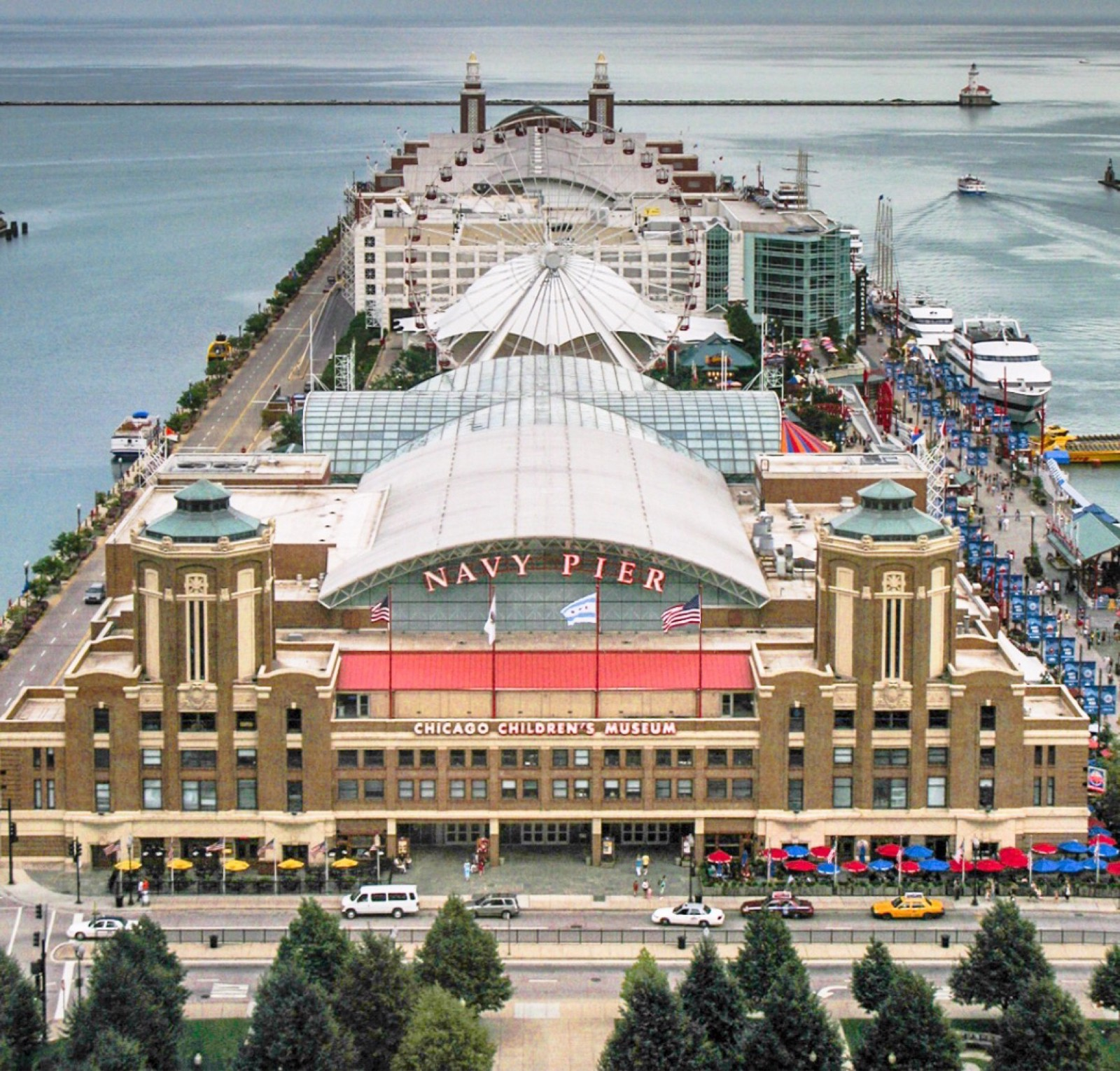 The Peir: Navy Pier, Chicago, Il….in The 1960' S The Pier Was An