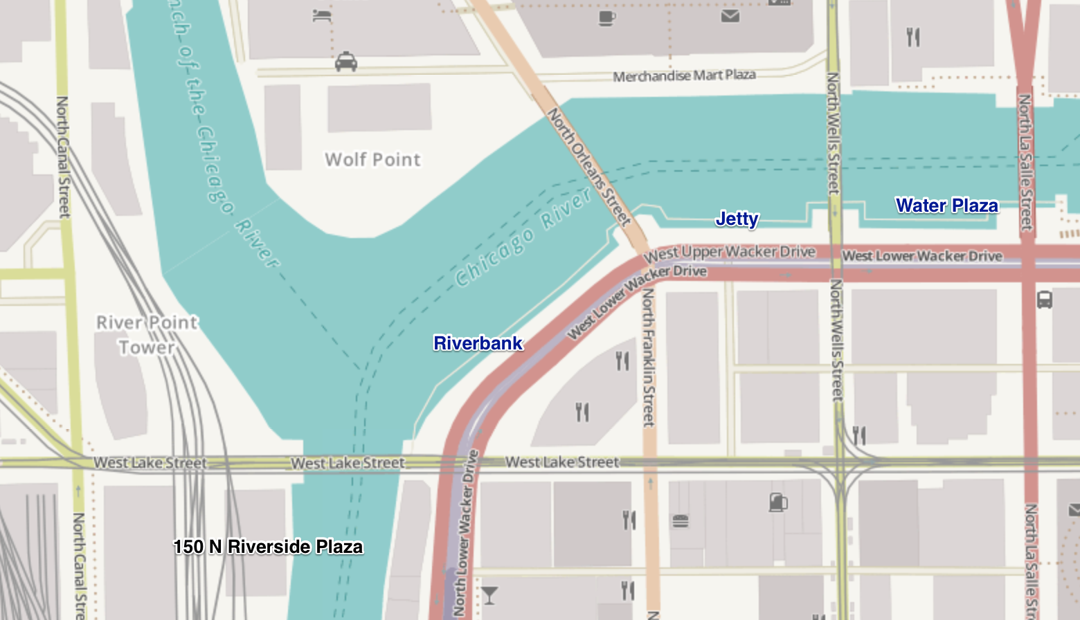 Mayor Emanuel said the new riverwalk spurred towers on Wolf Point