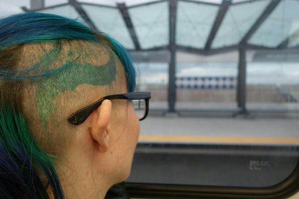 What To Expect When Youre Expecting A Head Tattoo Tilde Ann