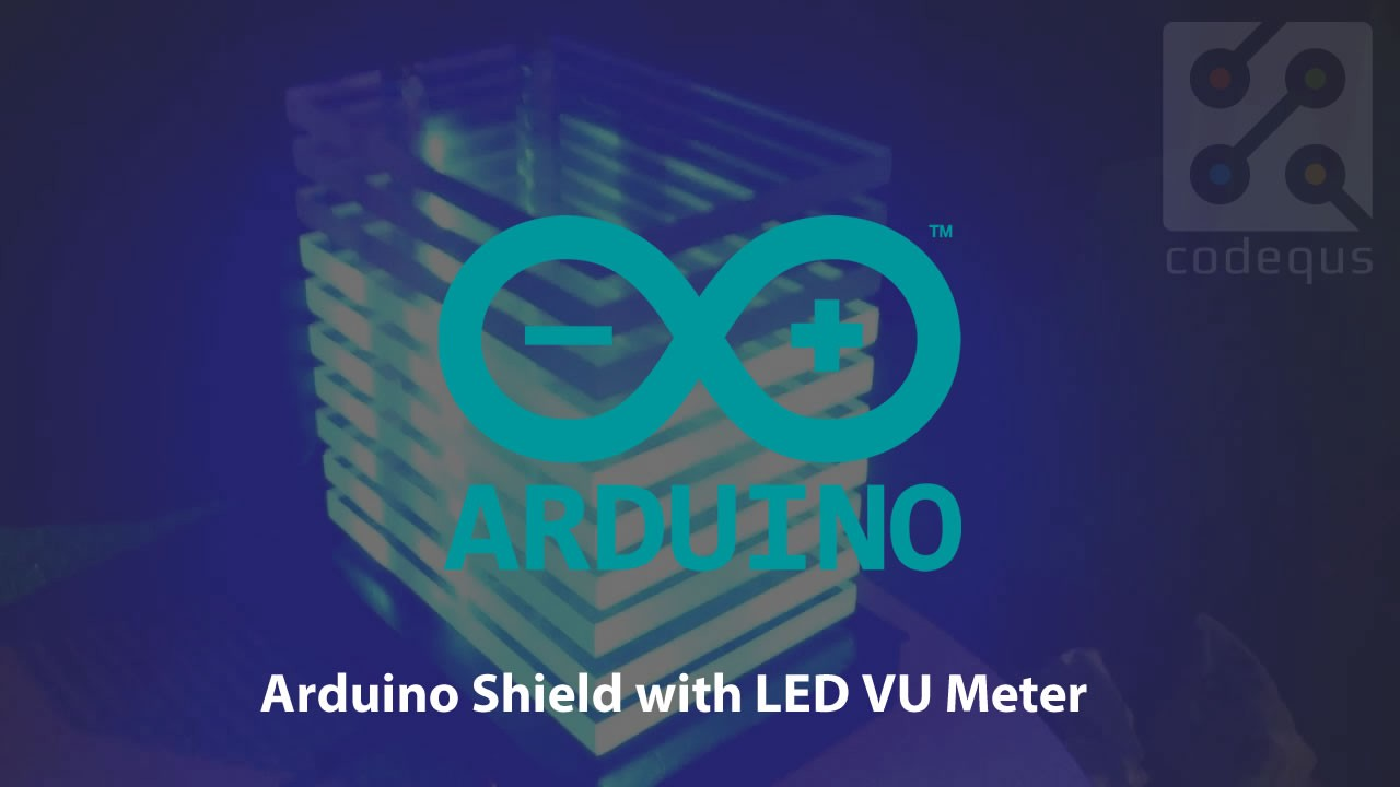 Arduino Shield With Led Vu Meter Justin Brumbaugh Medium Very Popular Images Electronic Projects Or Volume Is And Fun Project In Electronics We Can Consider The As An Equalizer Which Present Music