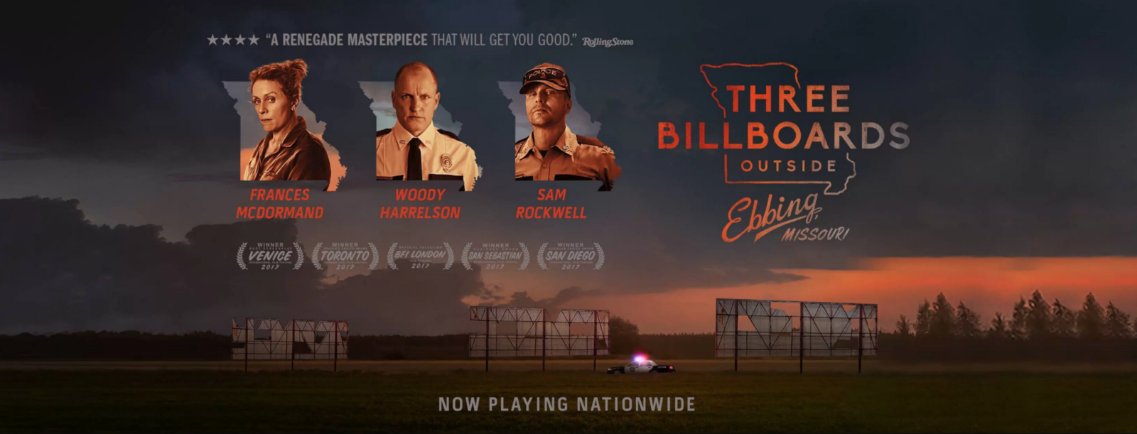 Kuvahaun tulos haulle Three Billboards Outside Ebbing, Missouri film poster