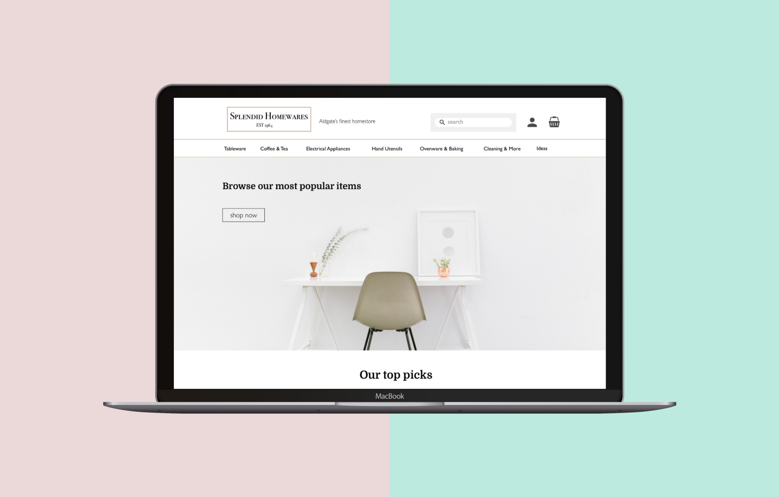 c2f1cab4b Designing an e-commerce website for a Homeware store — a UX case study