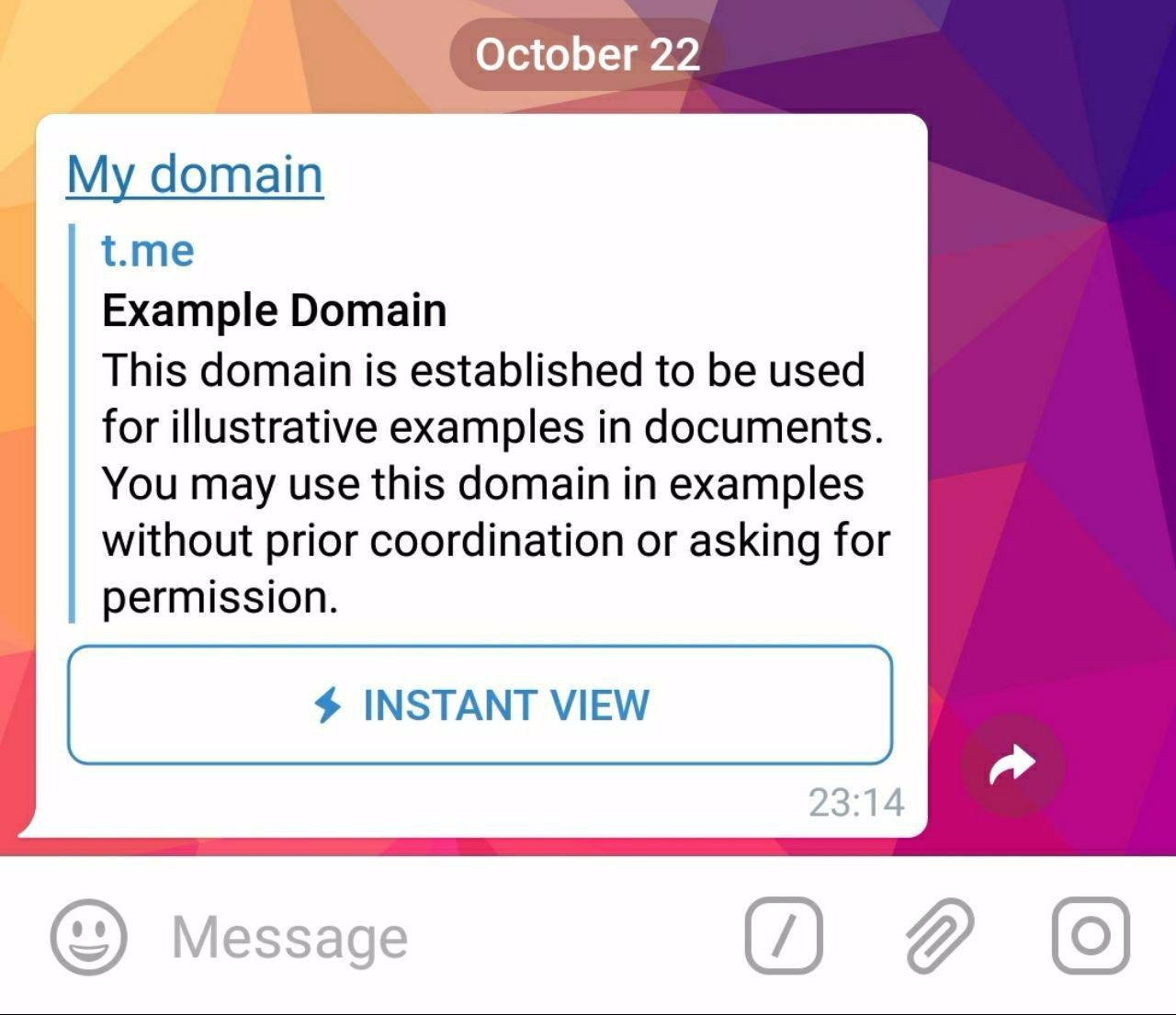 What Is Instant View And How can I get It for My domain? in Telegram ...