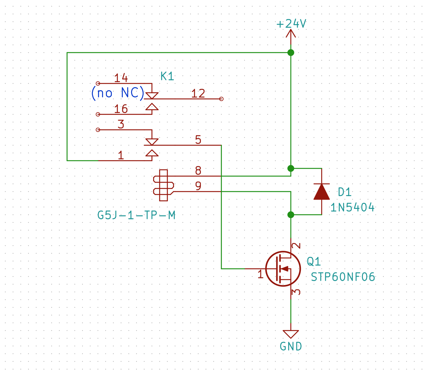 High Voltage Ac Generation Using Relays R X Seger Medium Alternating Current Generator Diagram Of I Used A 1n5404 Diode Had Available Rated For 100 V Peak Reverse Datasheet Towards The Positive