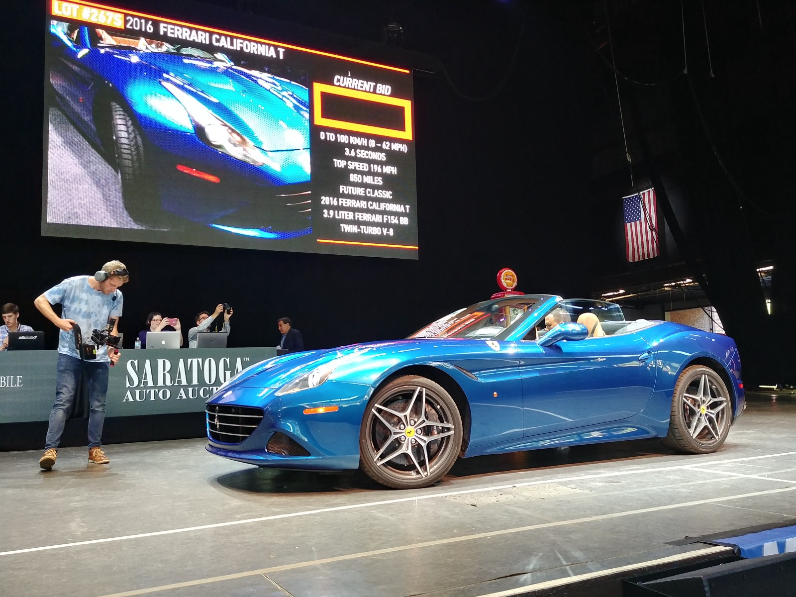 Saratoga Auto Auction Raises More Than For Distracted - Car auction show