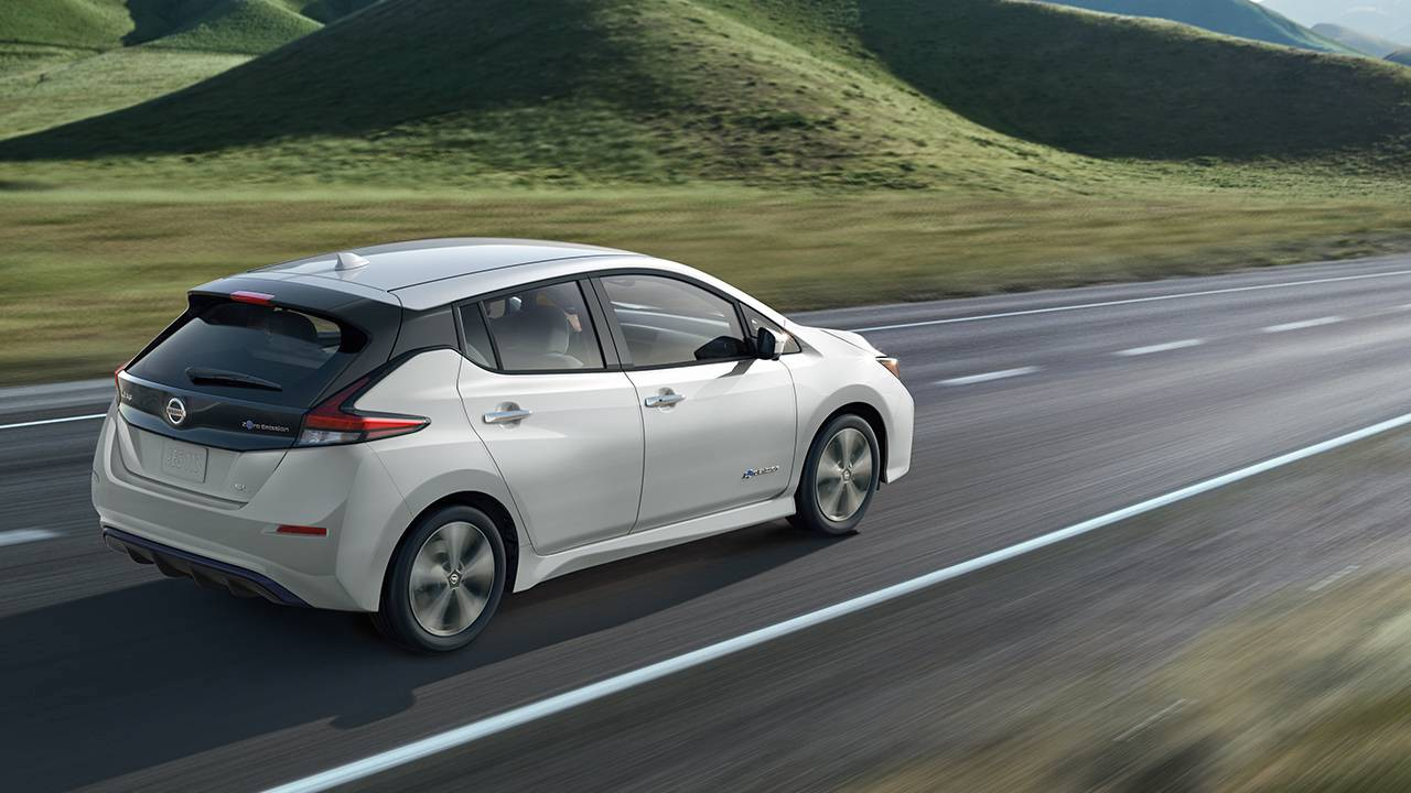The 2018 Nissan Leaf Photo From Usa