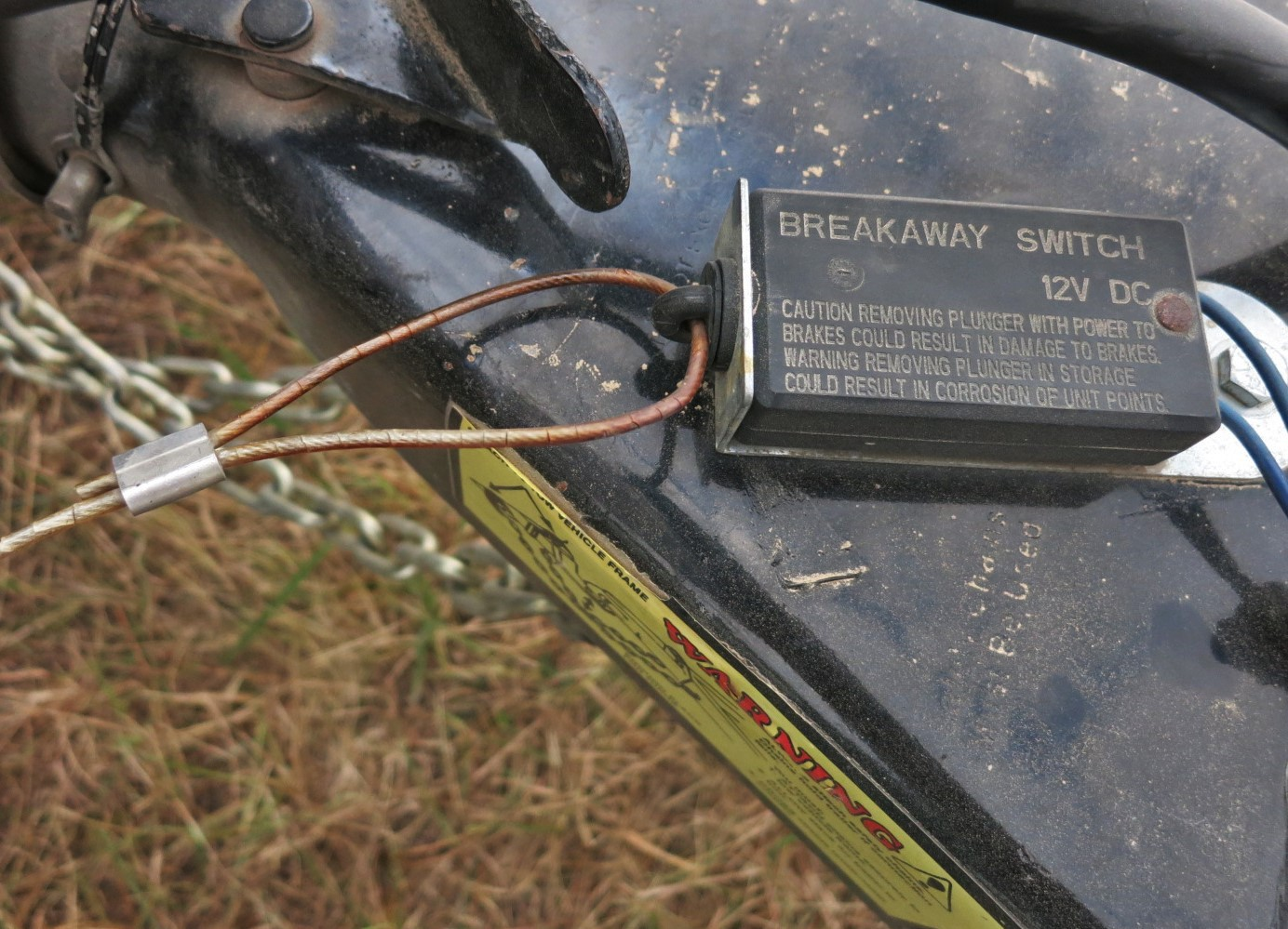 Tow Story Jim Rowland Medium Trailer Wiring W 4 Pin Connector Transmission Oil Cooler This Little Box Makes Turns A Disaster Into Slightly Smaller Make Sure The Jack