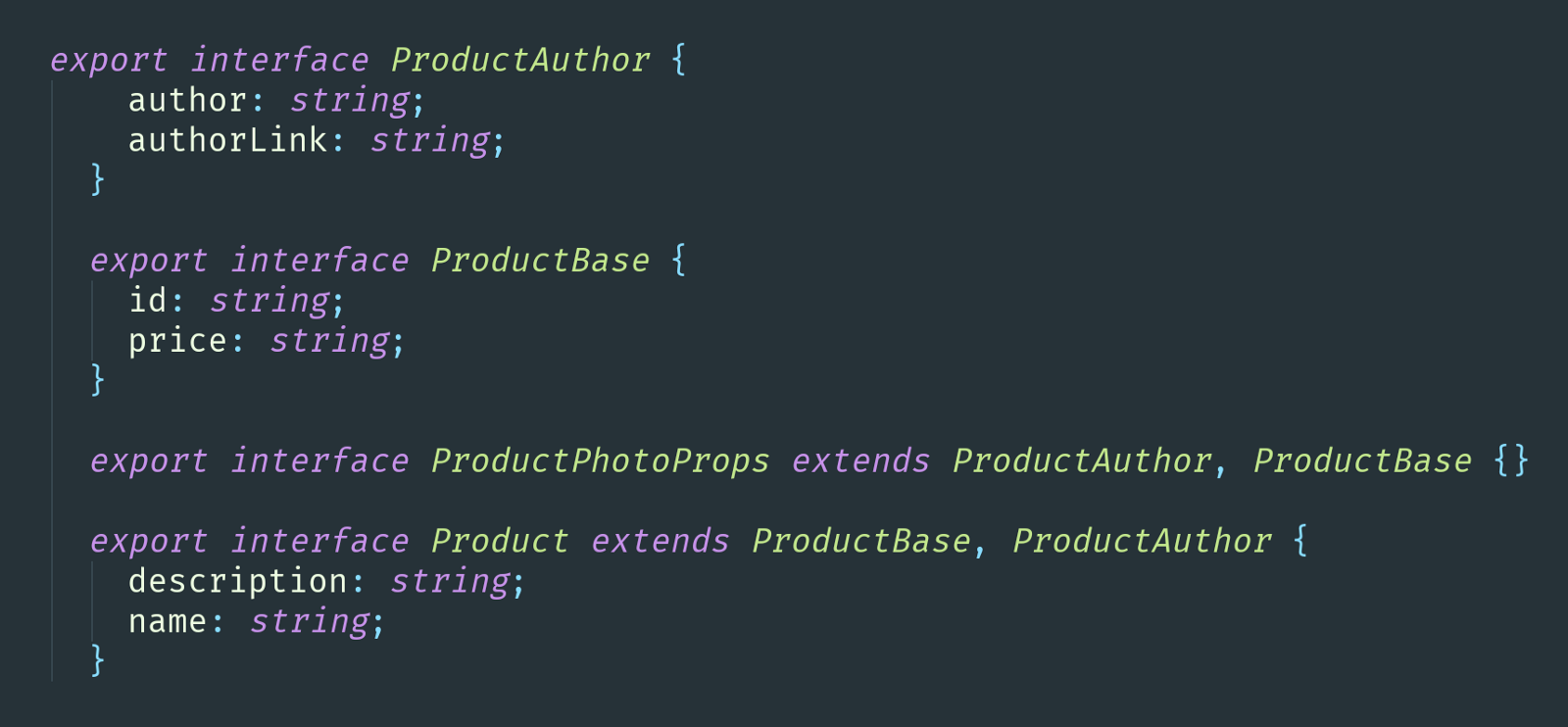 Advanced Typescript Types With Examples Gitconnectedcom Blog There Are Lots Of Components Here A Few Really Useful Extending Compact Interfaces To Reuse Them For Different Component Typings