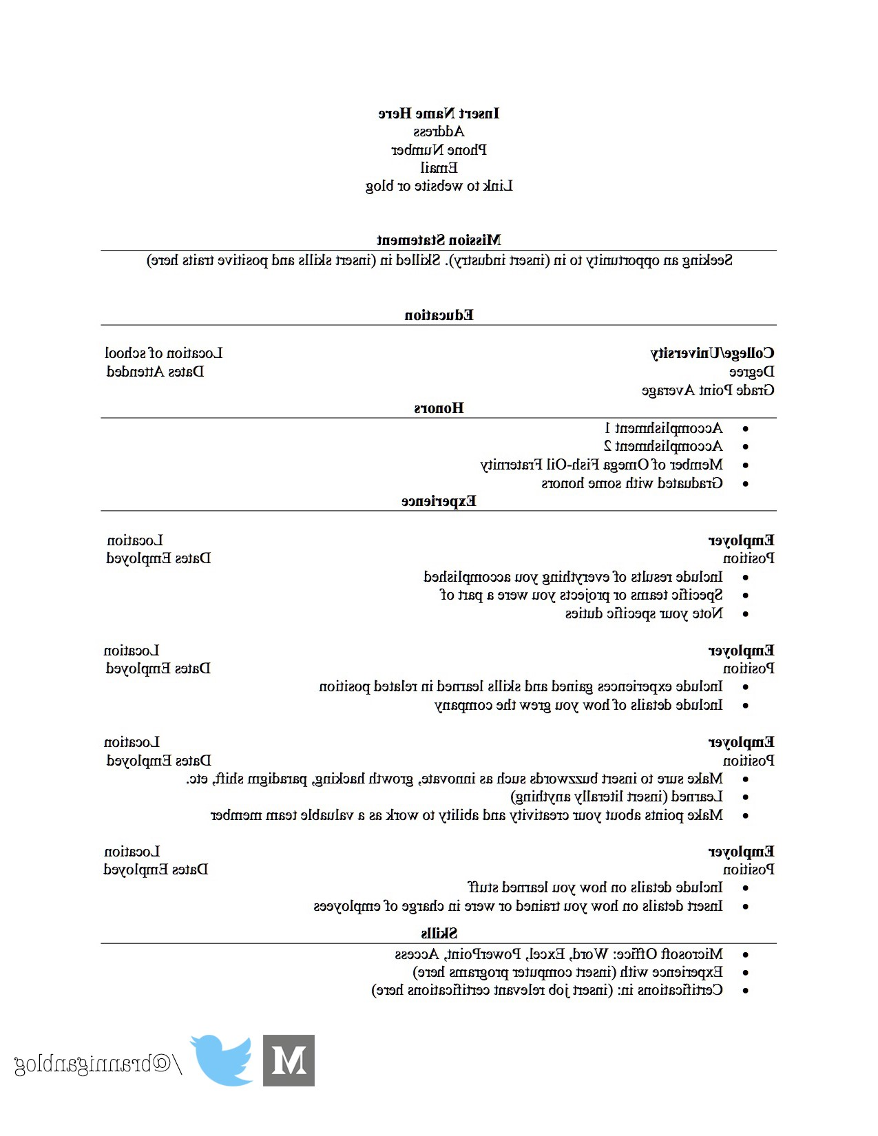 How To Bullshit A Resume If You Have No Experience