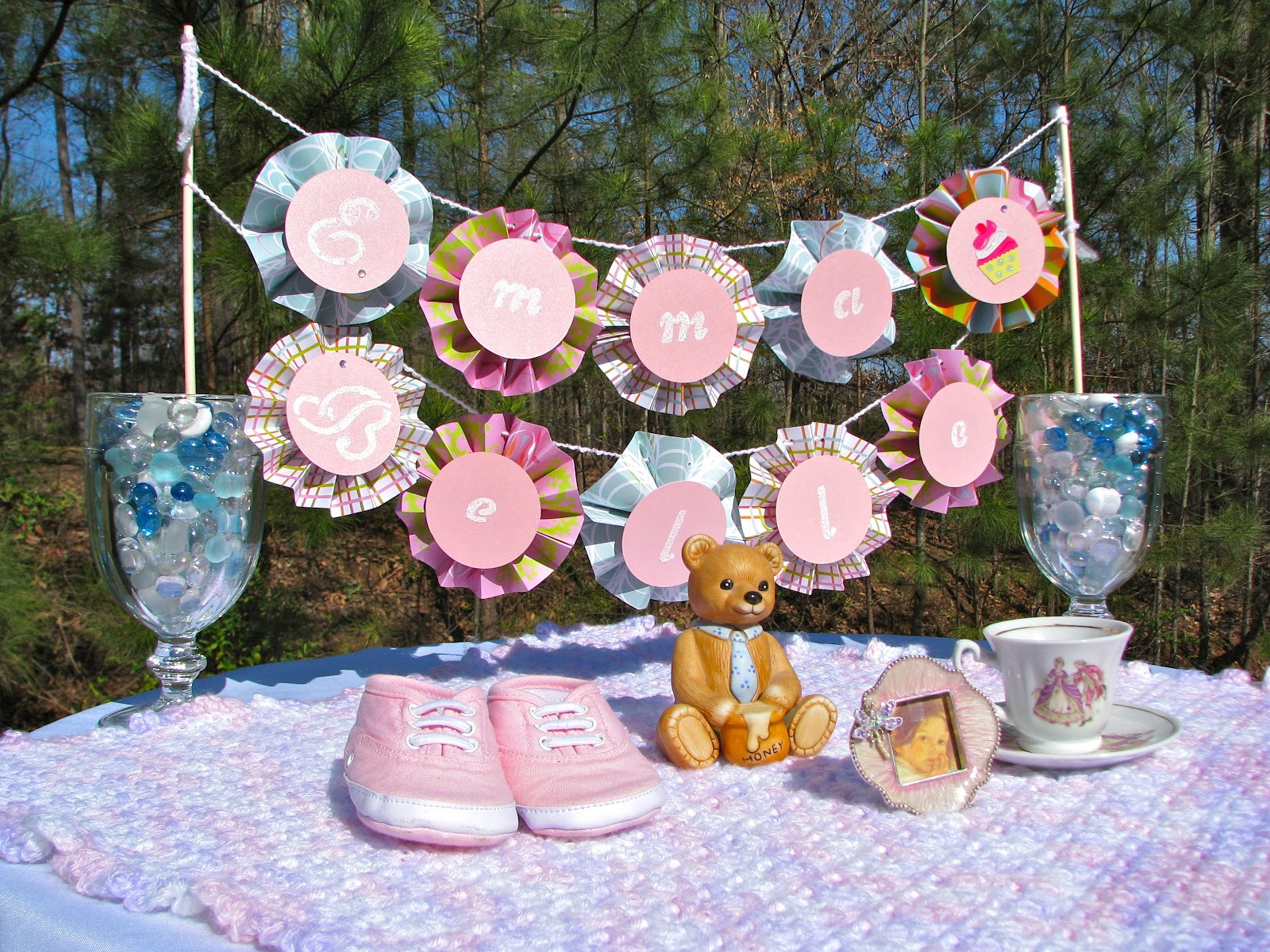 Ideas For Creative Baby Shower Crafts Jessie Cooper Medium