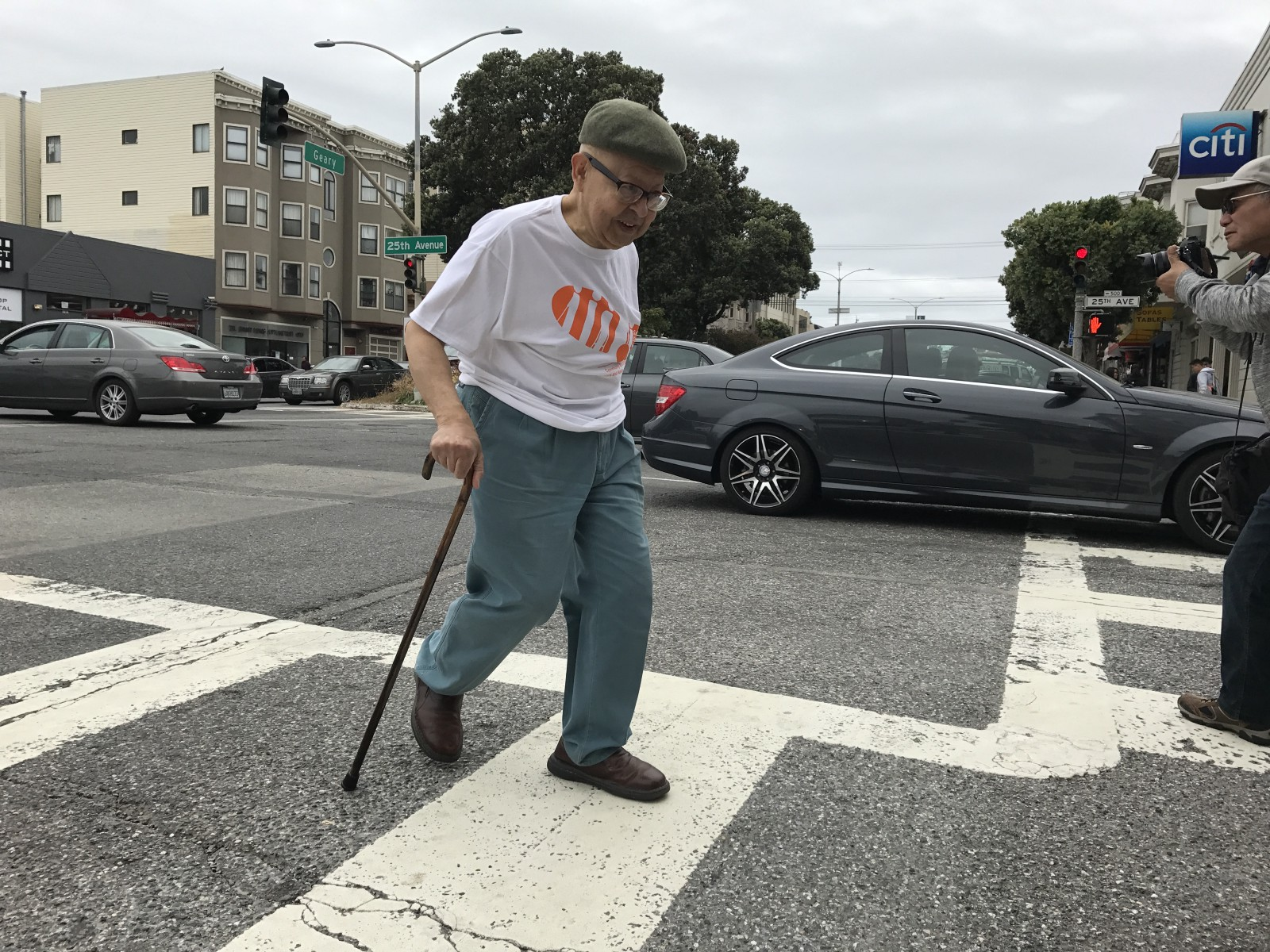 Watch How Does a Senior Cross the Road Walking Speed and Senior Safety video