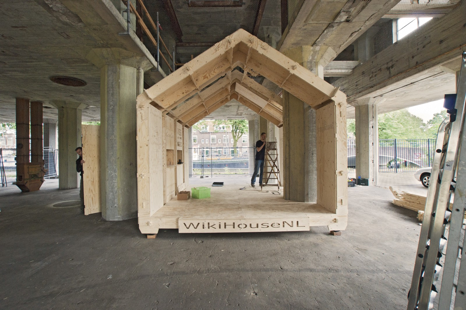Car Shed Design >> An Incomplete List of Complete WikiHouse Projects – WikiHouse News – Medium