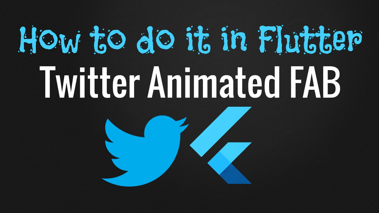 Flutter animated icon example