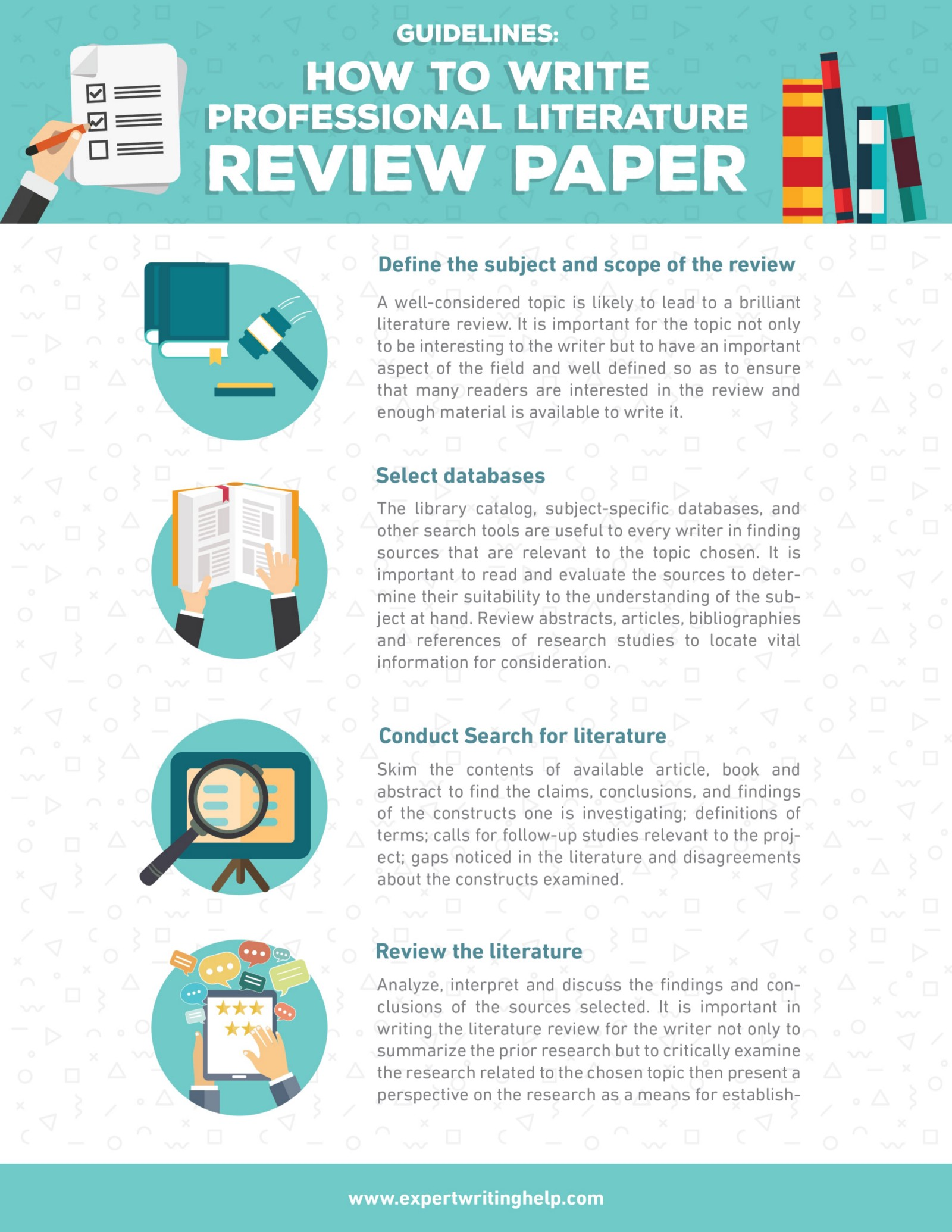 professional literature review writers services usa