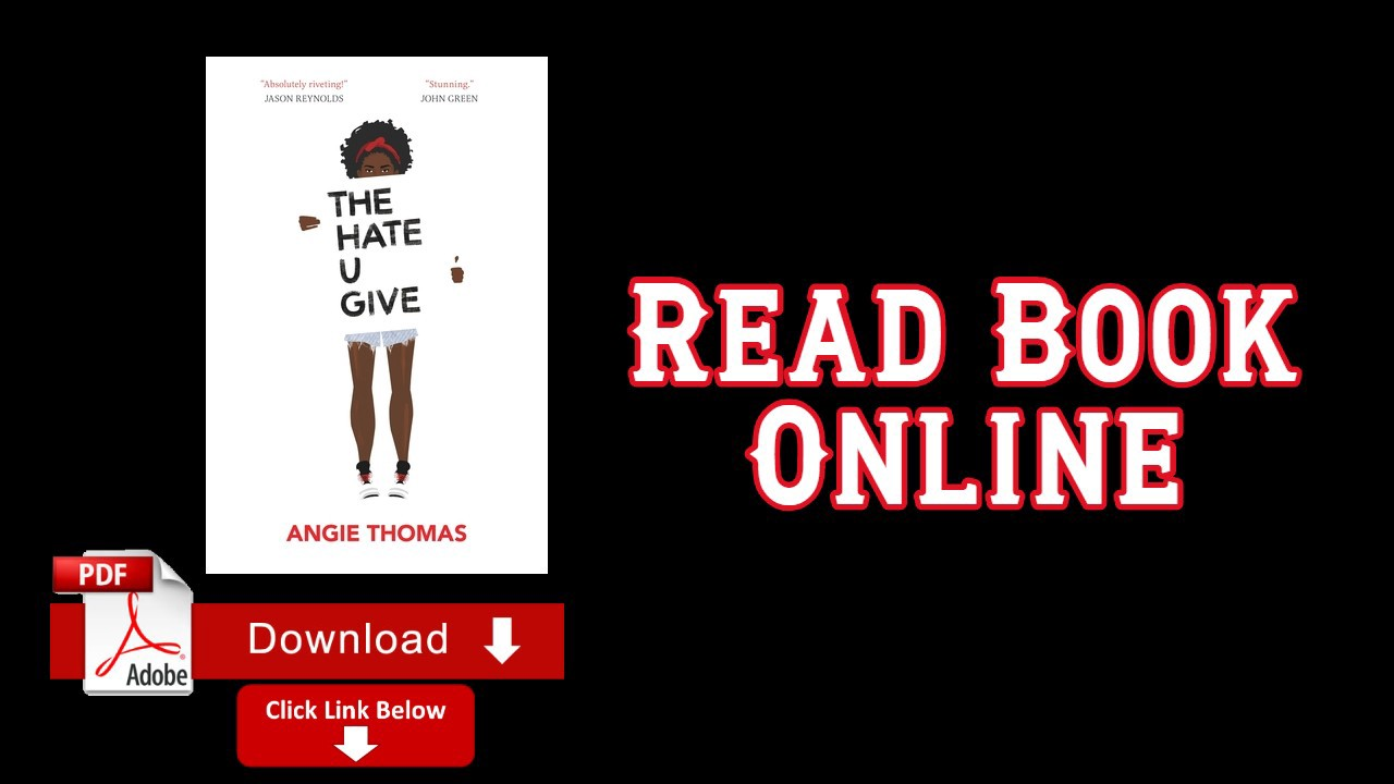 The Hate You Give Pdf