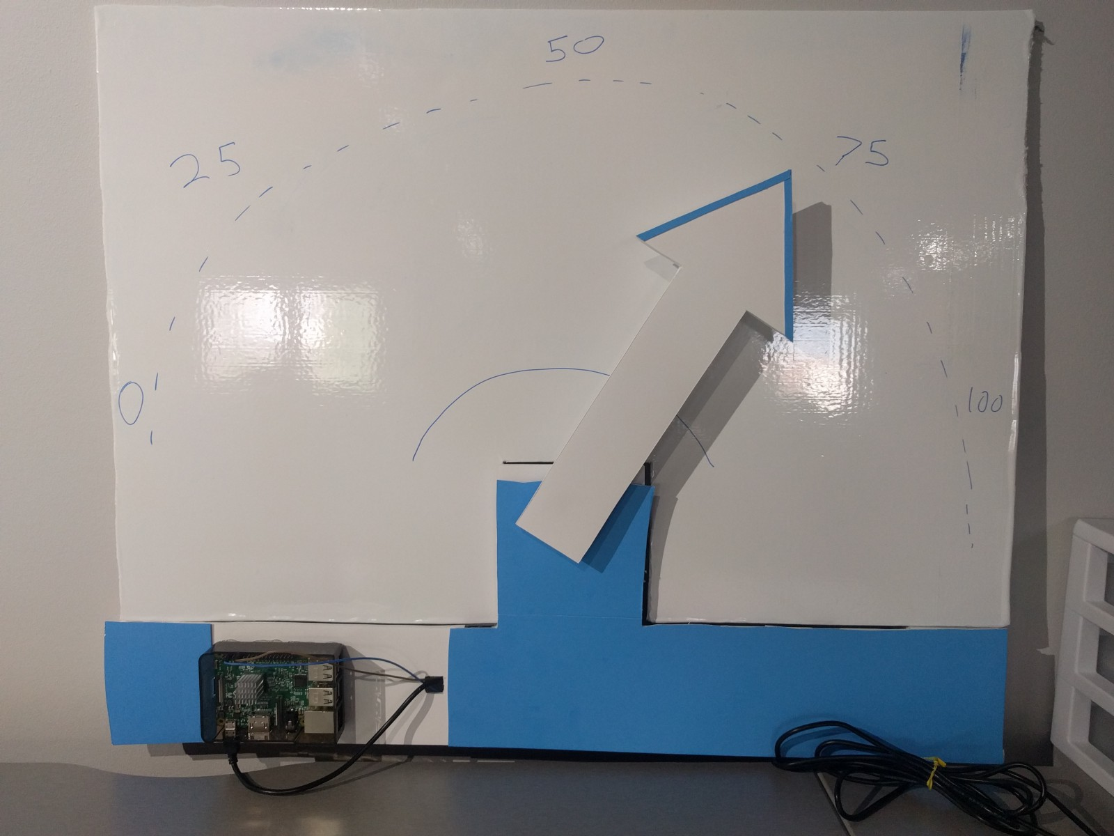 Raspberry Pi Office Art Display Tutorial Andrew Baker Medium Wiringpi Pwm Mode As A Fun Project And Way To Get Familiar With The Popular Platform I Decided Build Real Life That Can Hang On Wall Be