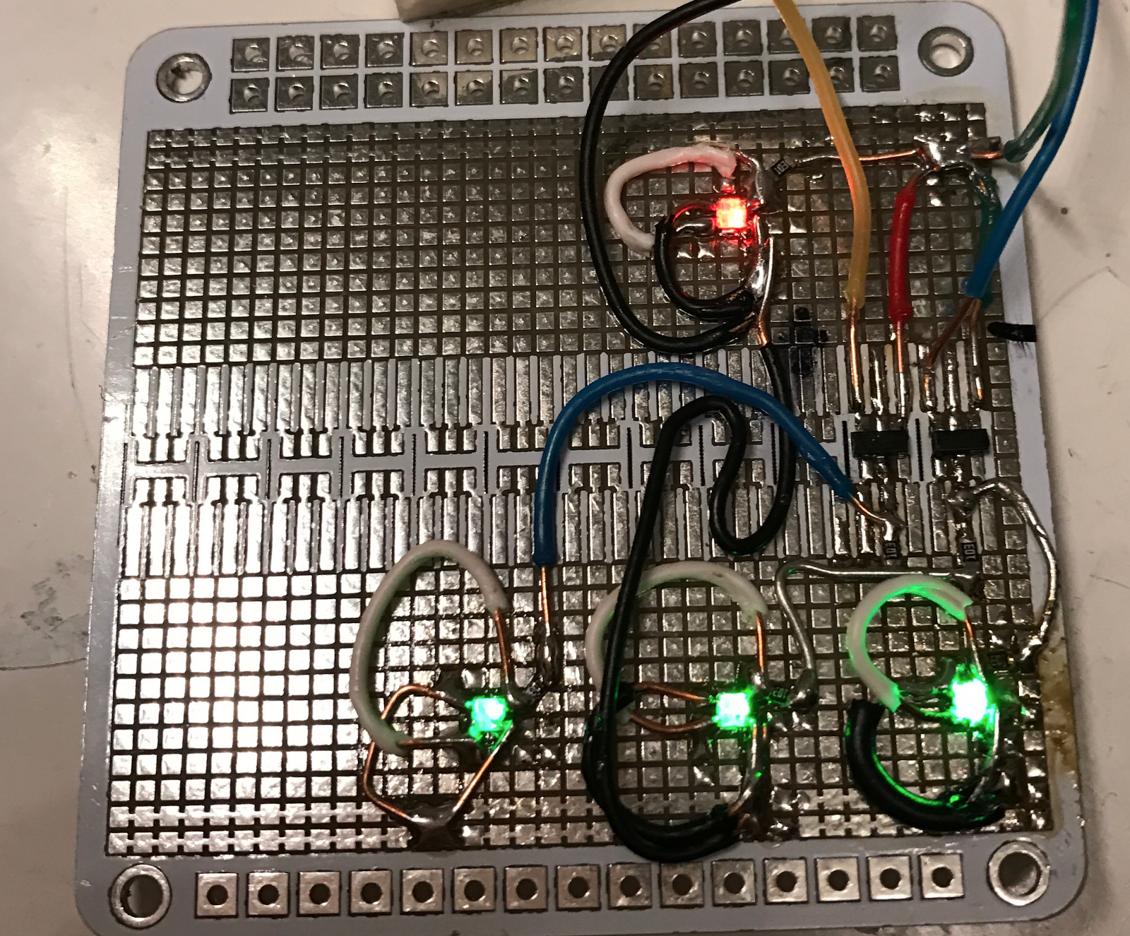 Exploring Ternary Logic Building Inverters Using Home Wiring Circuit Simulator Here Is Where The Differ When Given Zero Input Simple Inverter Shown In Middle Also Outputs But Positive