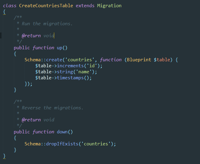 Creacin de un select dependiente con laravel 54vuejsselect2 migracion de countries malvernweather Choice Image
