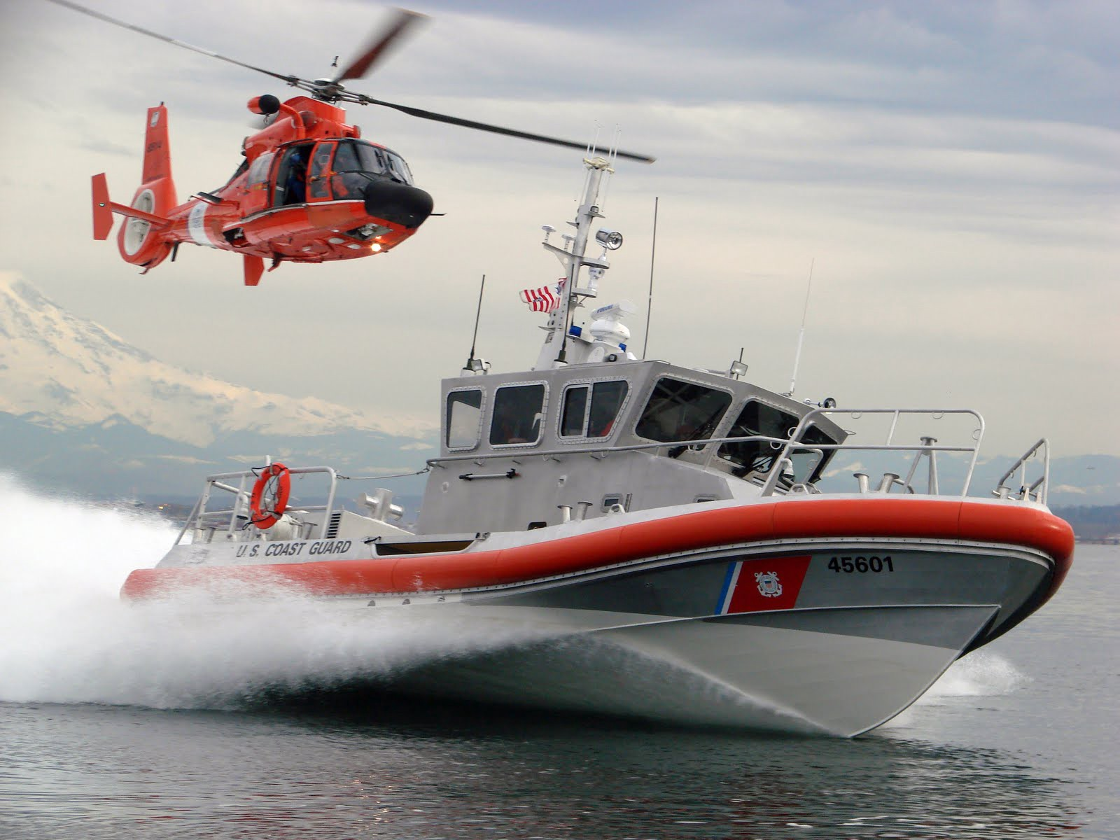 What is it like to be in the coast guard