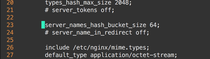 server_names_hash_bucket_size uncommenting