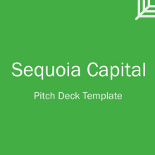 Sequoia Capital Pitch Deck Aprilonthemarchco - Sequoia capital pitch deck template