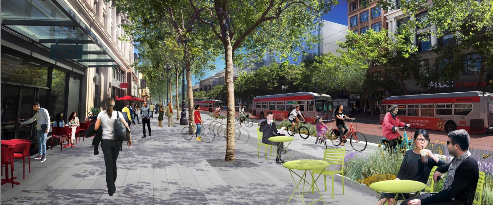 A new design for san francisco s grand thoroughfare is for Design agency san francisco