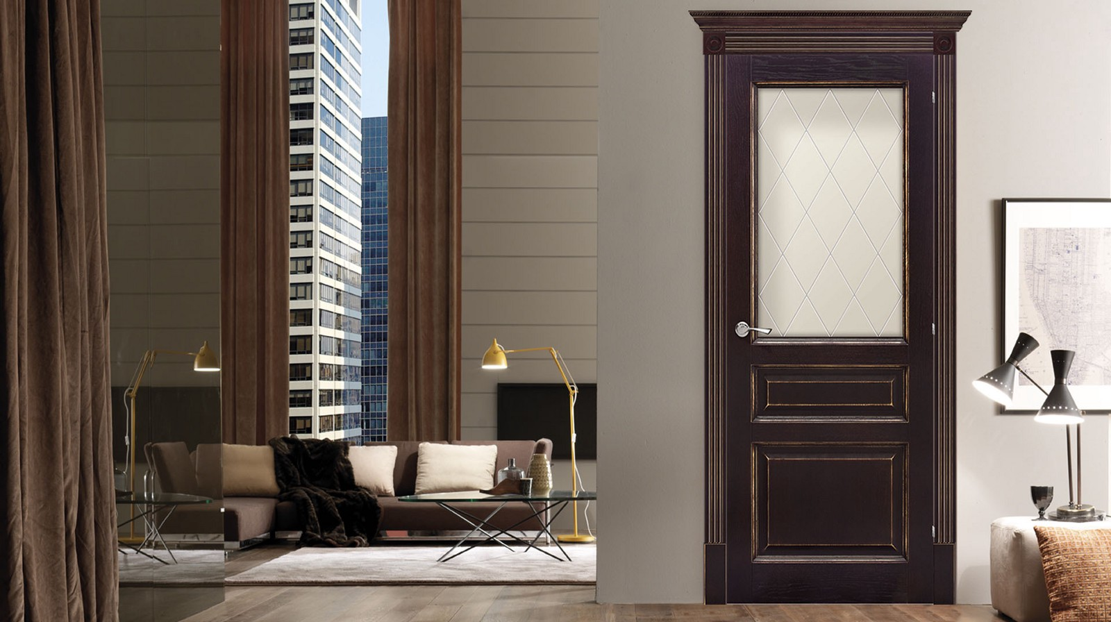 The most common material for the production of interior and entrance doors is of course a wood. Finished doors are varnished to emphasize the wood texture ... & Interior doors in USA: materials and construction \u2013 The Doors Depot ...