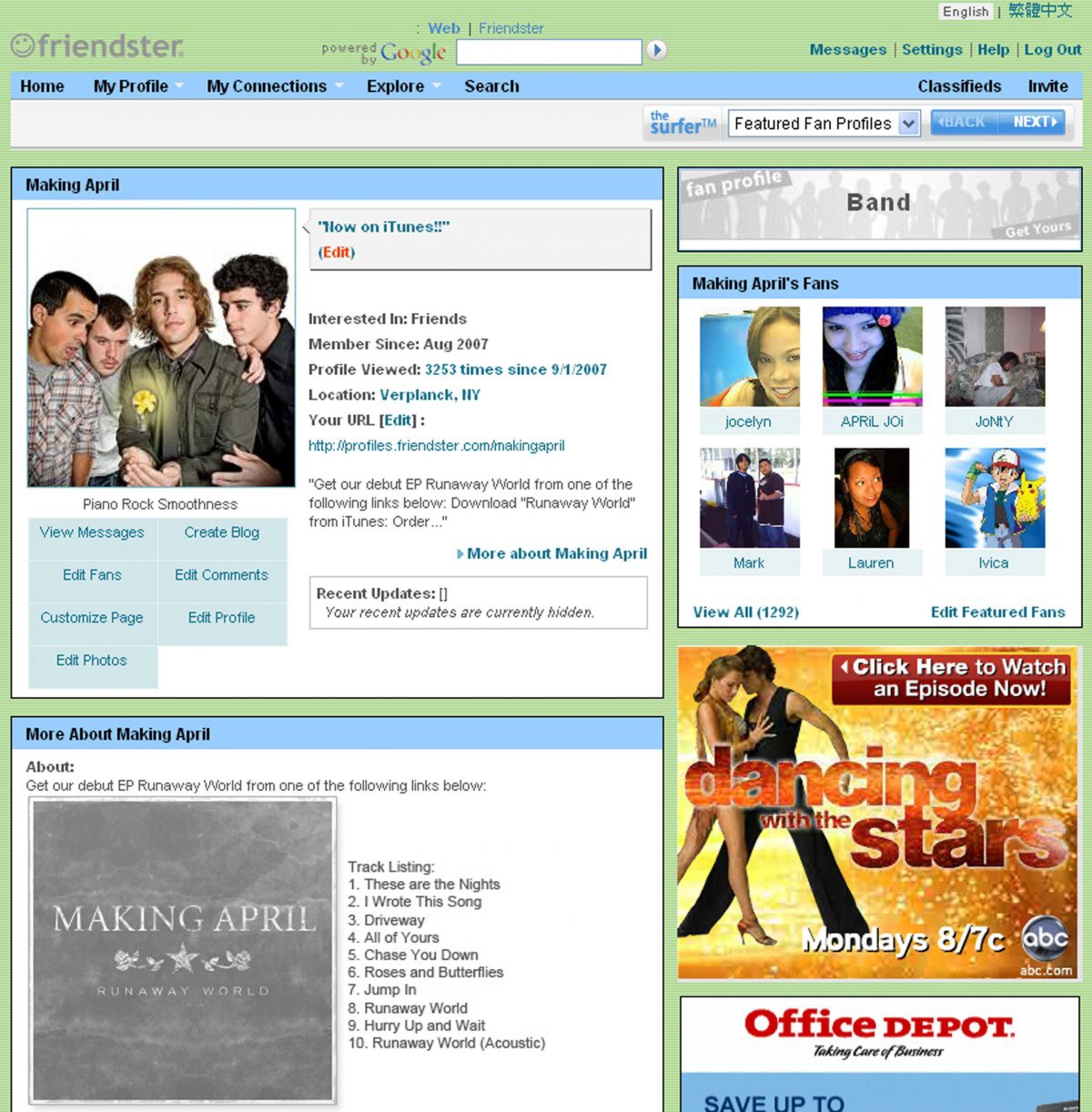 how friendster became a powerful and popular tool for social networking They had a great idea, though, and it finally became popular in the last few years first (real) stop: friendster in 2001, i took the plunge into friendster , and as an early adopter, i befriended just about anyone i had some sort of association with and reciprocated every friend request.