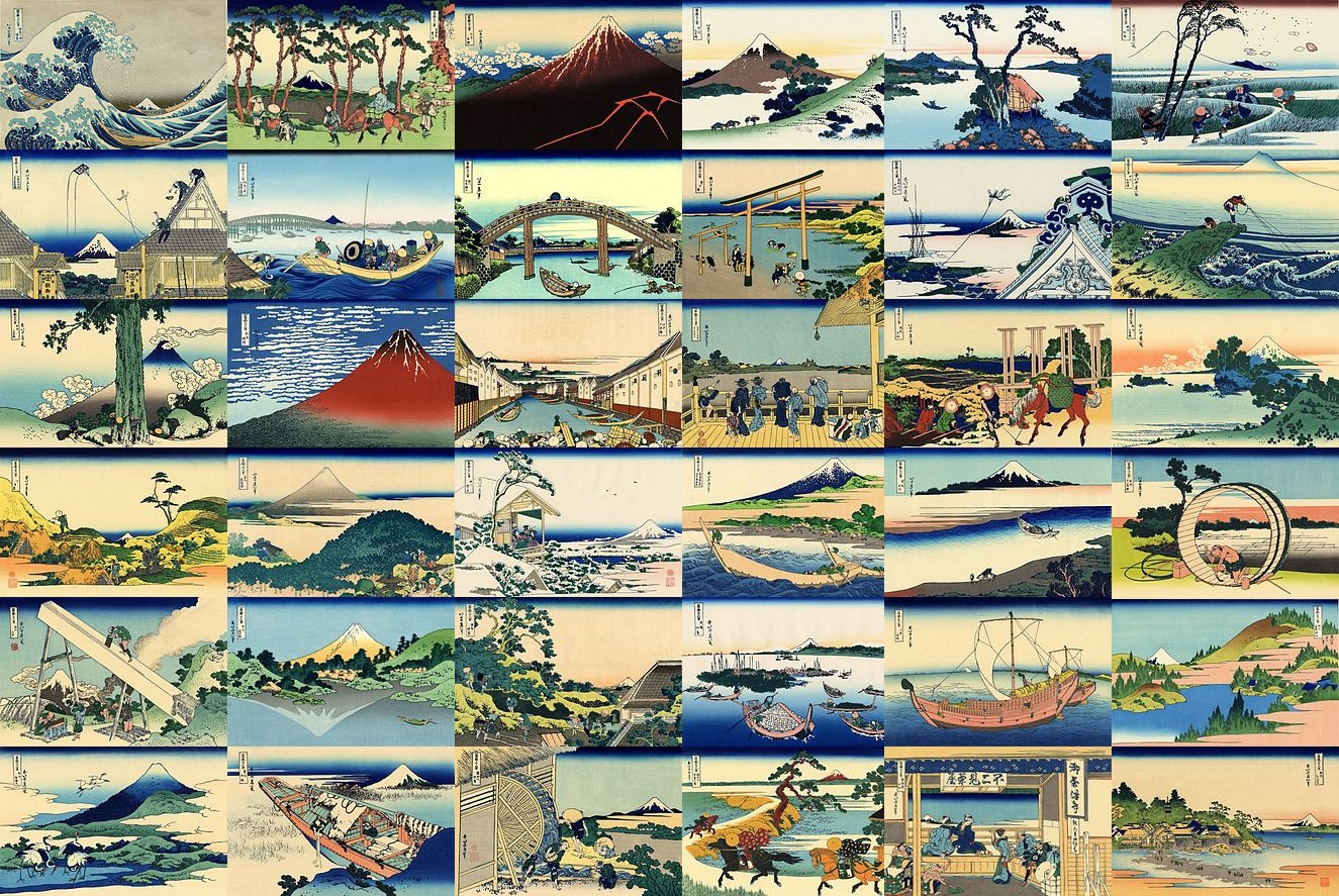 Test involving That Very good Say down Kanagawa by just Hokusai Composition Example