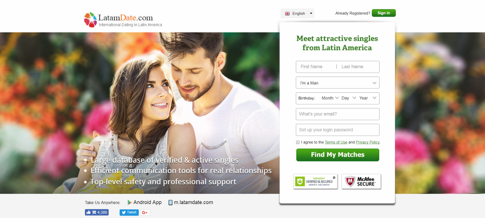 What are the real dating sites