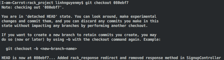 git revert to commit id