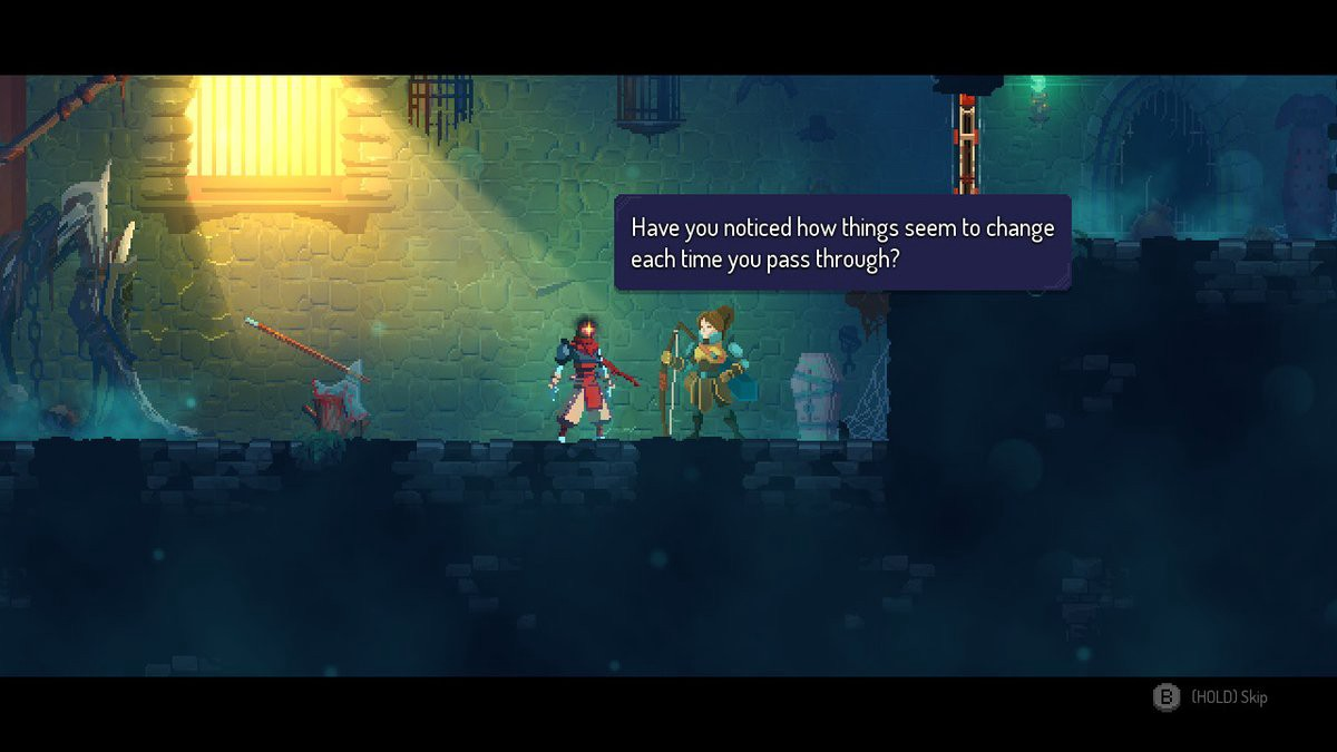 Dead Cells takes care to start out interesting