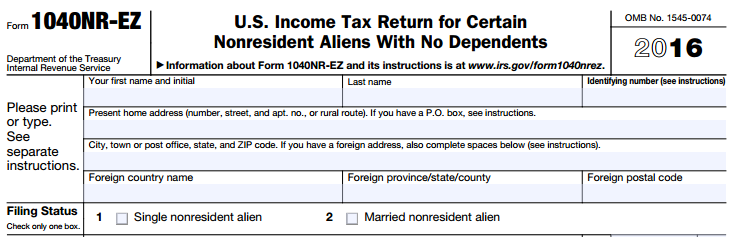 Submitting Your J1 Federal Tax Return Cathal Cuimn Medium
