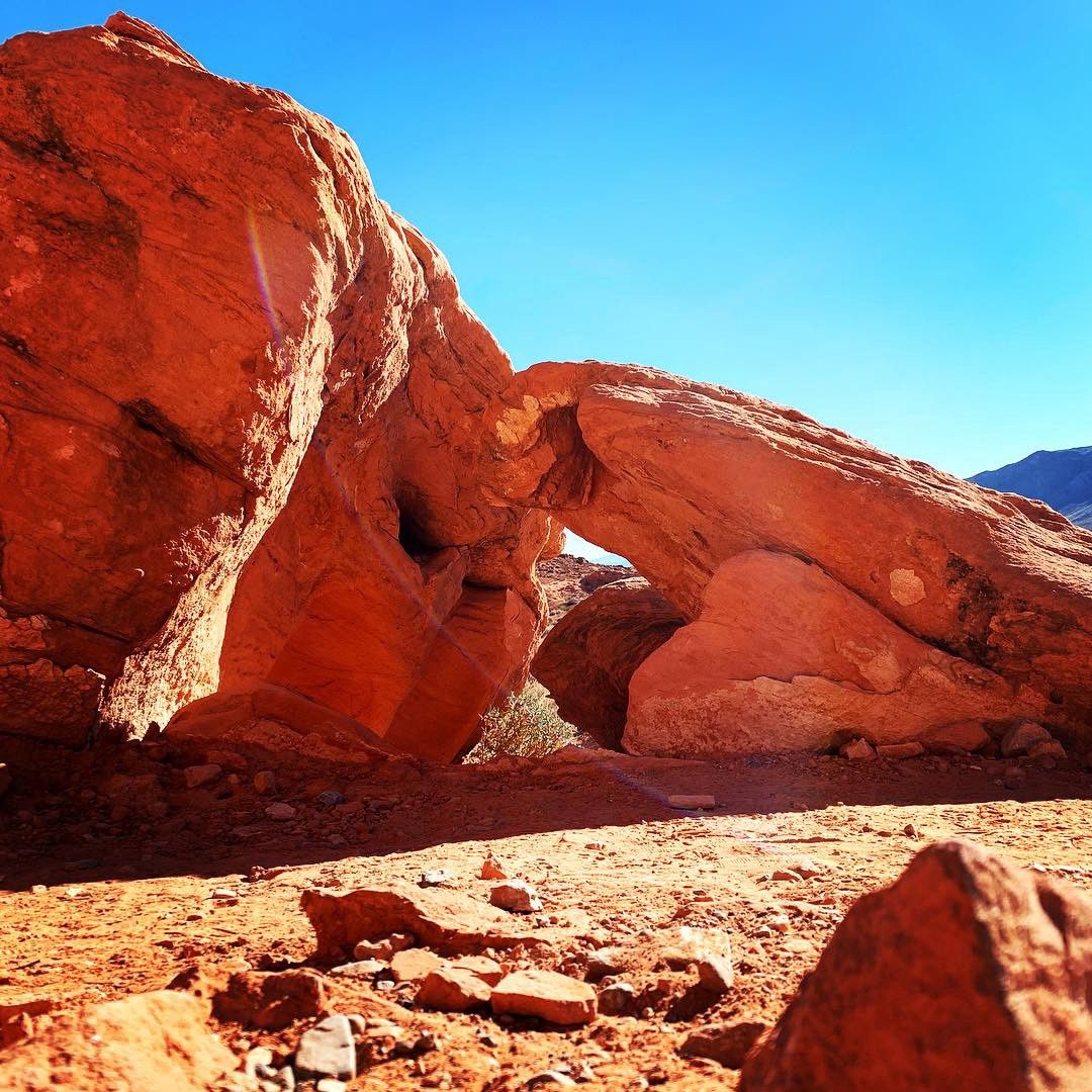 Valley of Fire in Las Vegas